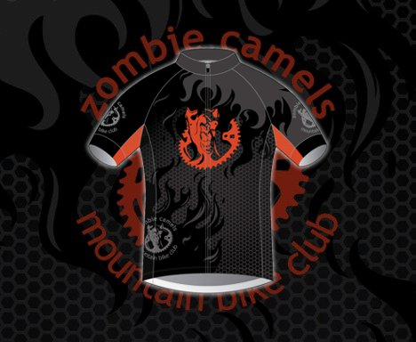 Zombie Camels Race Team Jersey